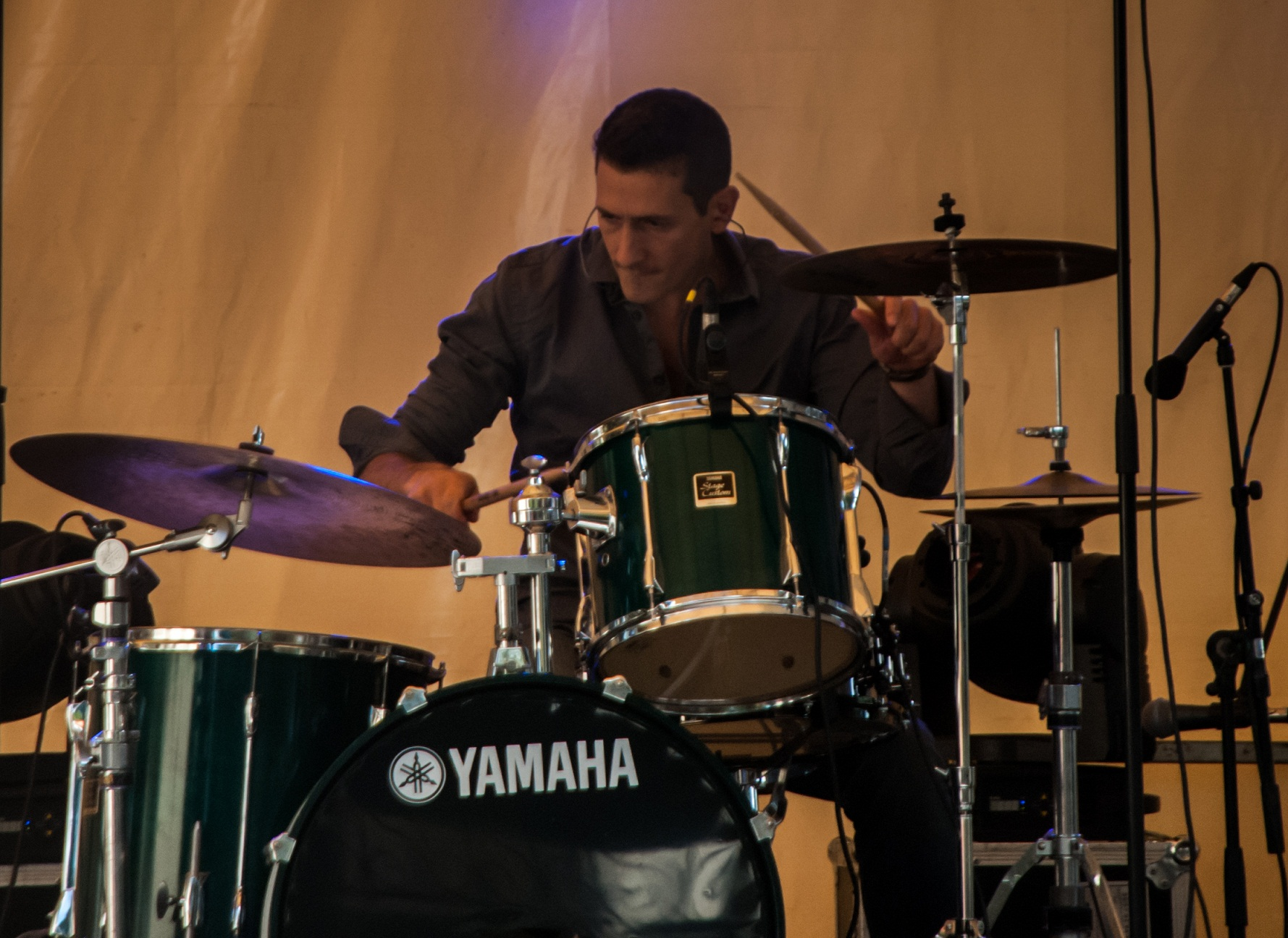 Thomas Di Caro Gartempe blues festival 2015