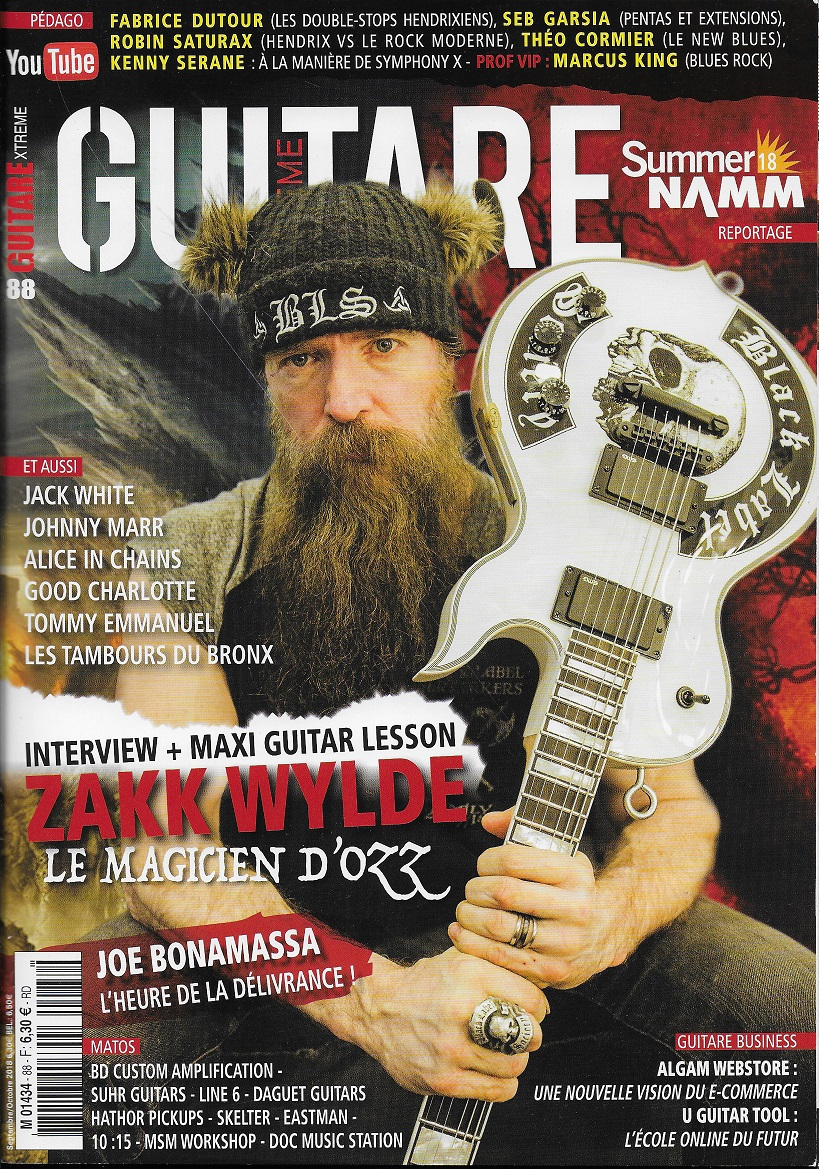 Guitare Xtreme sept 2018