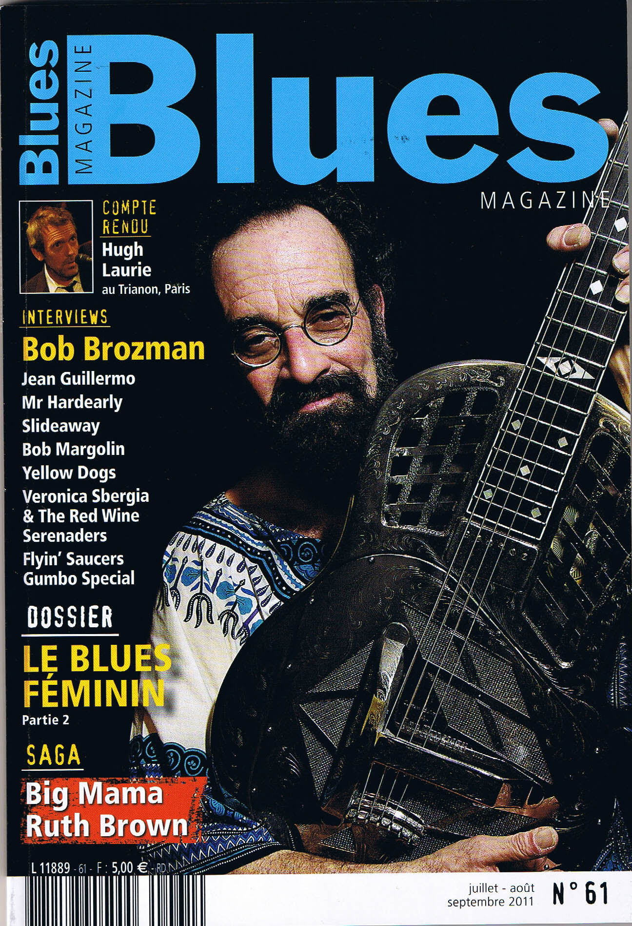 couverture blues mag n°61